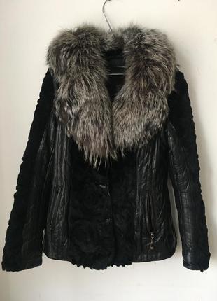 Кожаная курточка трансформер