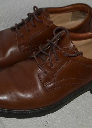 Туфли clarks 28.5 см 43-44 см размер кожа англия uk 8.5g