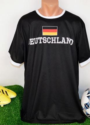 Футбольная спортивная футболка сборной германии identic deutschland 13 этикетка