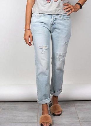 Новые джинсы 👖бойфренды hollister