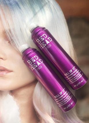 Спрей для дополнительного объема волос tigi full volume spray 371 мл