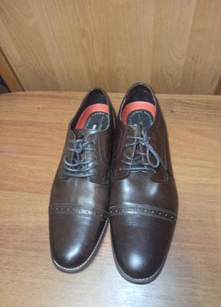 Туфли ортопедические мужские rockport4 фото