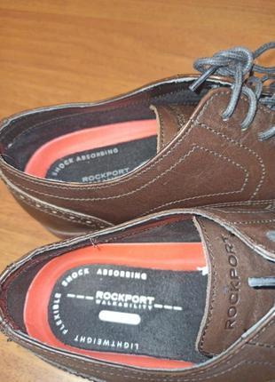 Туфли ортопедические мужские rockport5 фото