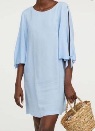 Платье рубашка h&m размер 36/38