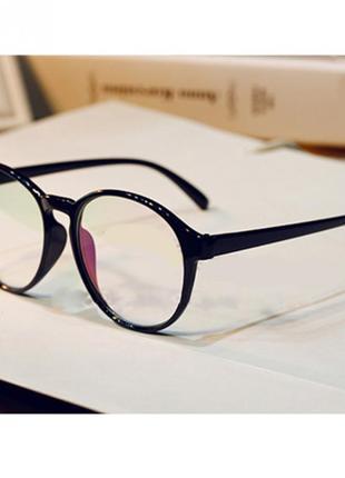 4-62 вінтажні окуляри для іміджу з прозорою лінзою очки для имиджа с прозрачной линзой1 фото