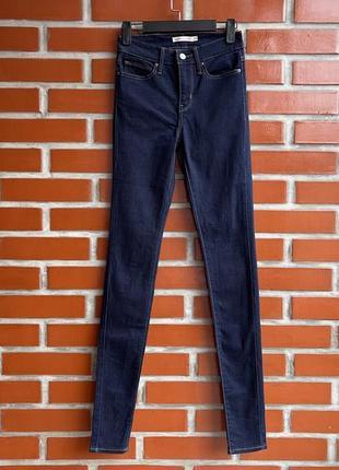 Levis levi's skinny оригинал женские джинсы супер скинни размер 25 левайс б у