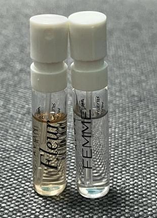 Набор из двух пробников пробник avon fleur femme парфюмированная вода