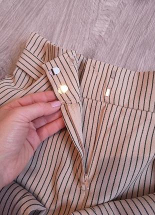 Стильные брюки в полоску на талии от primark6 фото