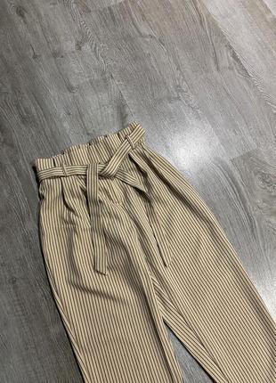 Стильные брюки в полоску на талии от primark2 фото