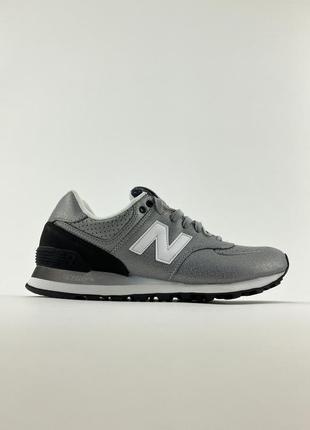 Кроссовки new balance 574 gray gradient