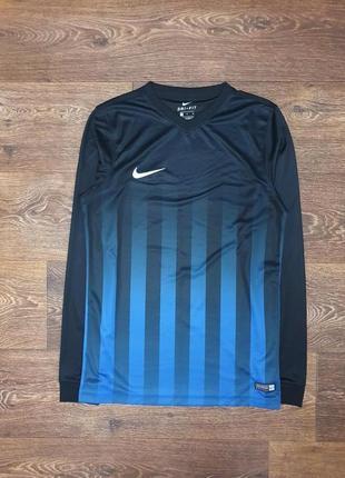 Классная мужская футбольная кофта лонгслив nike оригинал