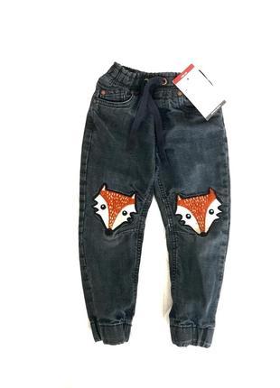 Утеплённые джинсы на трикотажной подкладке 2-4 года lindex швеция 🇸🇪