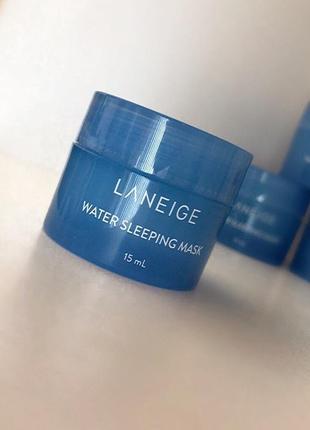 Увлажняющая ночная маска laneige water sleeping pack (15 мл)