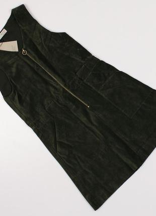 Вельветовий сарафан, плаття (платье) для дівчинки, 9-10 р., zara
