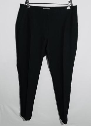 Чёрные брюки классические со стрелкой primark