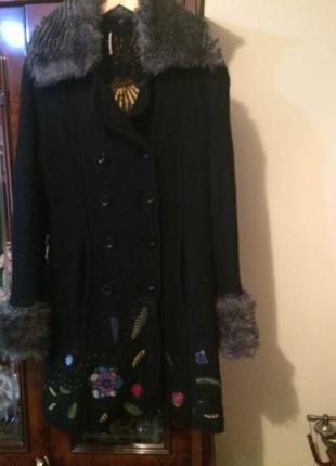 Пальто desigual,оригинал