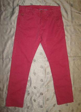 G-star raw оригинал мужские брюки штаны bronson slim chino