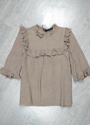 Блуза из вискозы от zara