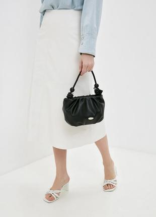 David jones сумка кроссбоди клатч черная 6039 cm6039t
