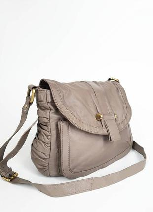 Betty jackson. кожаная сумка через плечо