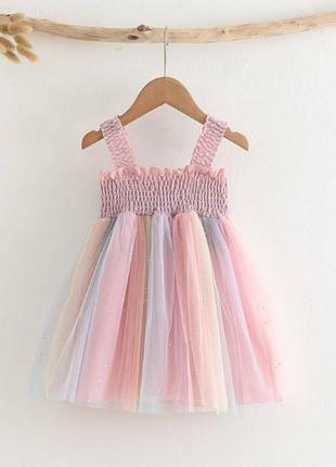 Сукня для дівчинки рожева . платье