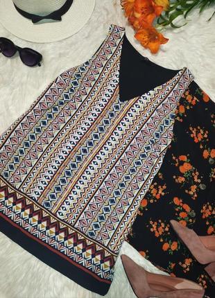 Актуальная блуза трикотажый топ
