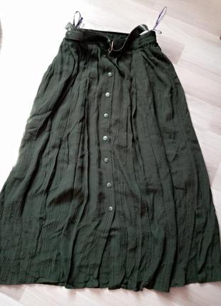 Брендова юбка, довга міді з карманами! стан чудовий!