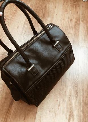 Черная сумка в стиле zara,asos