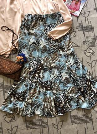 Стильная юбка миди ,mandy marsh, размер 16-18