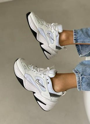 Nike m2k tekno кроссовки женские найк м2к техно обувь взуття