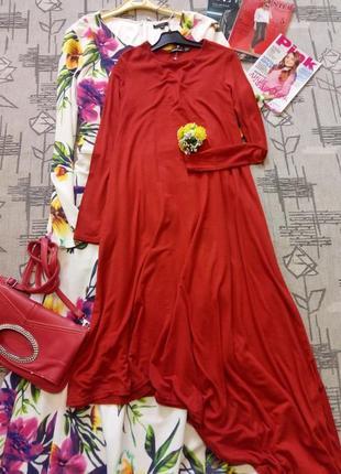 Стильное ассиметричное платье, boohoo, размер s