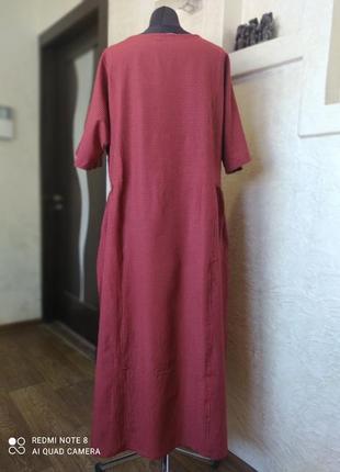 Платье котон zanzea6 фото