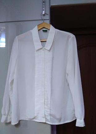 Нова офісна/класична блузка c&a р. 42 (xl)