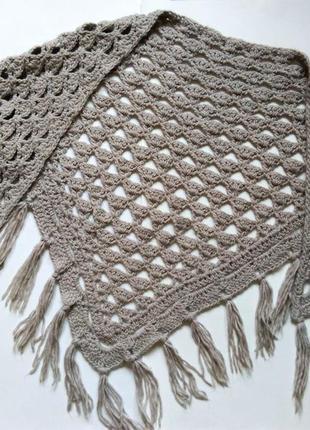 Новый шарф accessorize hand made вязаная шаль шарф платок очень теплый