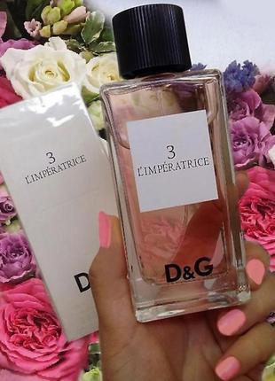Туалетная вода императрица d&g imperatrice для женщин