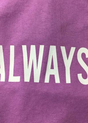 Фиолетовое оверсайз худи2 фото