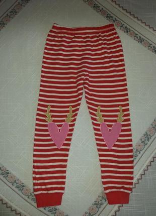 Домашние пижамные штаны на 5-6лет