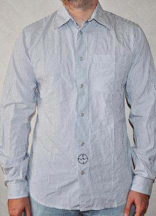 Мужская рубашка armani jeans оригинал
