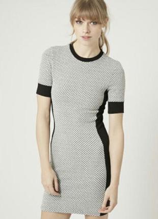 Платье приталенного силуэта topshop размер хс-с