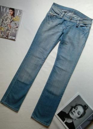 Клевые голубые джинсы diesel оригинал