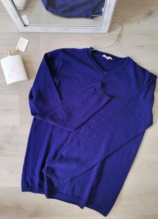Ежевичного цвета пуловер от hugo boss