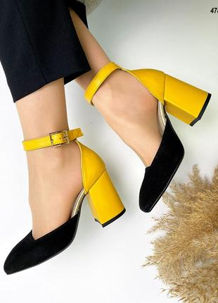 Код 4787 туфли grace на обтяжном каблучке