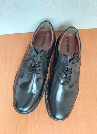 Мужские туфли scimitar  45 р.