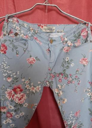 Милейшие джинсы в цветочек