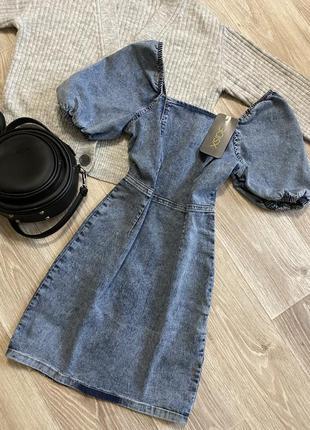 Джинсовое платье 👗