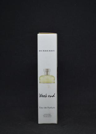 Burberry week end 20 мл парфюмированая вода