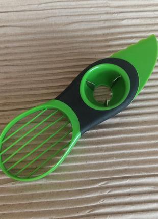 Ніж для авокадо 🥑 овочечистка ножик для розделки авокадо 3 в 1