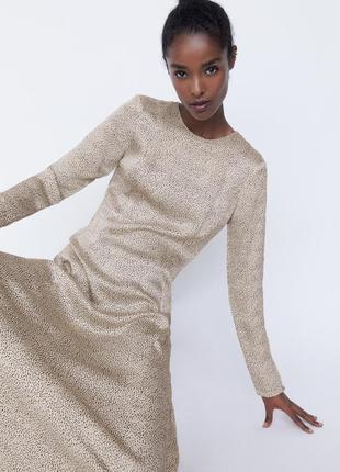 Новое платье от бренда zara3 фото