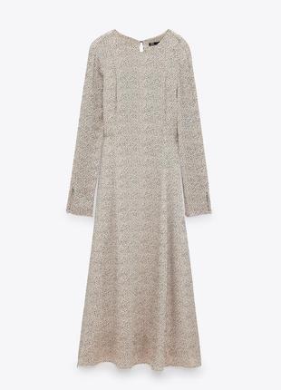 Новое платье от бренда zara1 фото