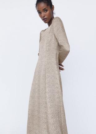 Новое платье от бренда zara4 фото
